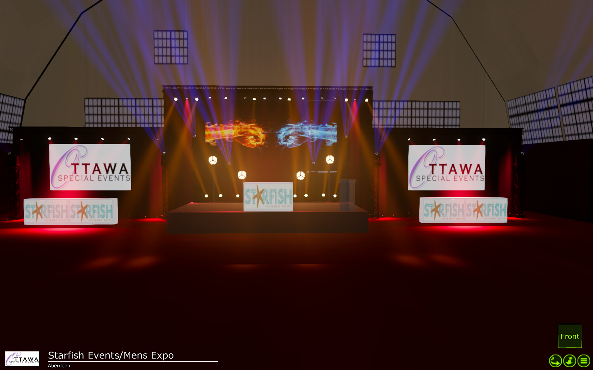 Lighting Designers for concerts, festivals, stages, touring serving Toronto and Ontario