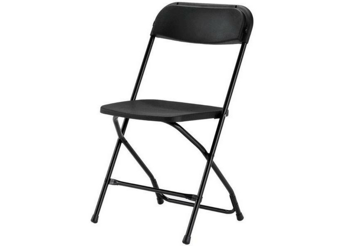 rent black, white folding chairs in Ottawa