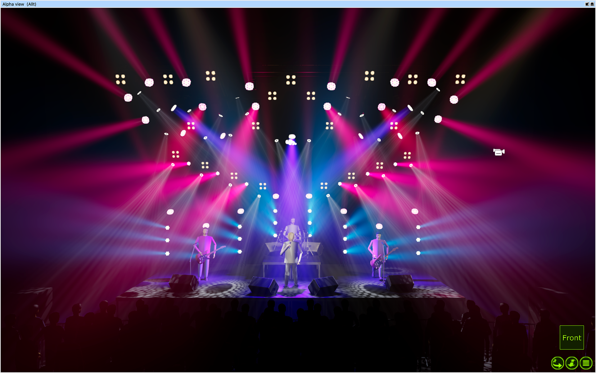 Concert and entertainment lighting design Edmonton Alberta