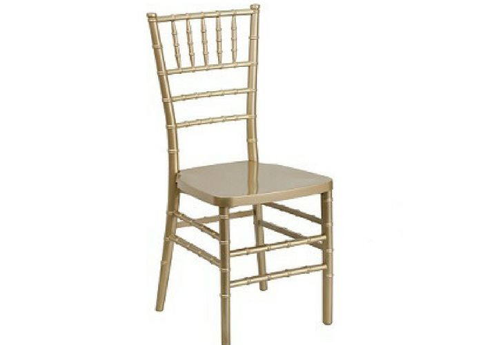 Rent Gold and Silver Chiavari Chairs in Ottawa