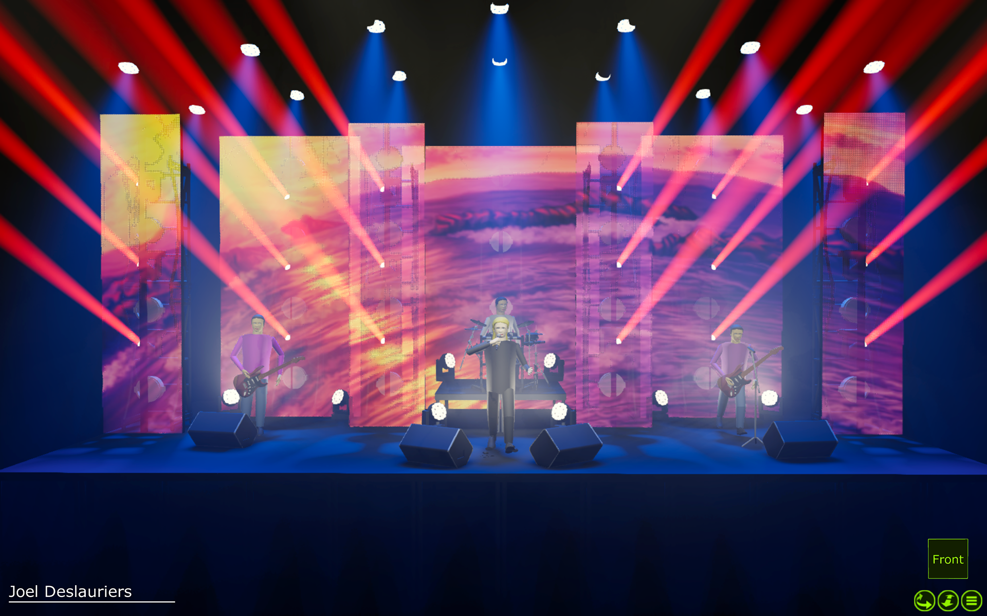 Show, stage, lighting, event designers in Toronto