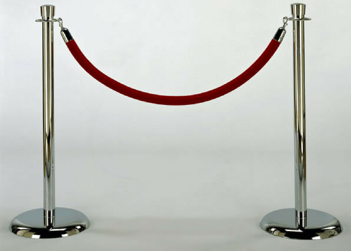 chrome stanchion rentals ottawa, red rope rentals ottawa