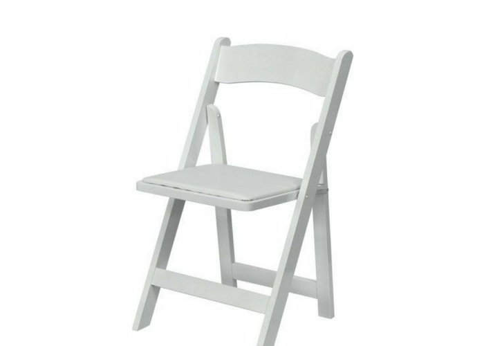 white wedding chairs for rent in Ottawa